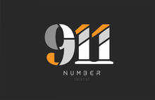 Number 911 For Company Logo Ic...