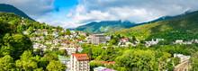 Panorama Of Borjomi Town In Ge...