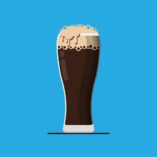 Root Beer Mug. Vector Illustra...