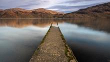 Old Jetty At Loch Lomond