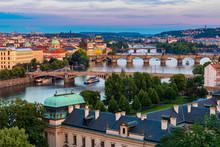 Prague, Czech Republic Bridges...