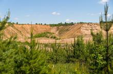 View Of The Sand Quarry Throug...