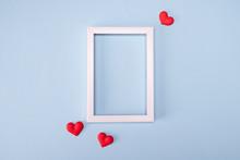 Minimal Valentine Day Concept....
