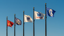 United States Service Flags