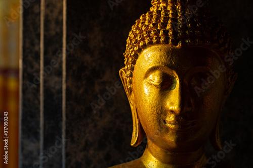 Stampa su Tela Thai buddha status