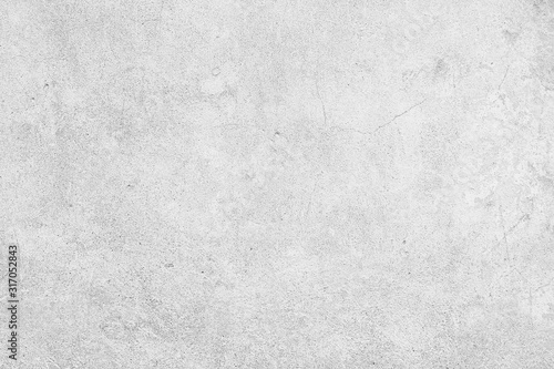 Obraz white wall cracks background / abstract white vintage background, texture old wall with cracks - fototapety do salonu