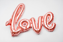 Love Word From Pink Inflatable...