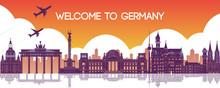 Famous Landmark Of Germany,tra...
