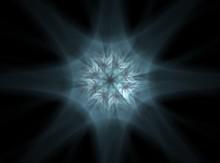 Shiny Colorful Fractal Space D...