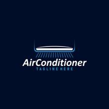 Air Condition Logo Concept Vec...