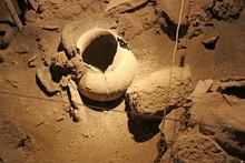 Ancient Storage Jar Found In A...