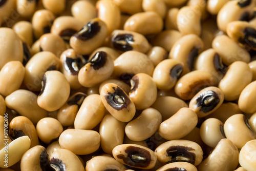 Raw Organic Black Eyed Peas Tablou Canvas