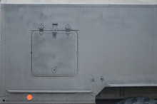 Close Up Of Green Military Tru...