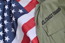 Old US Coast Guard Uniform Lie...