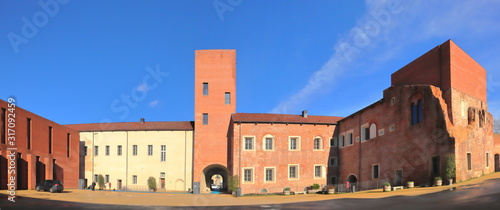 Foto castello di novara in italia