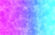 canvas print picture - Textured Halftone: Magenta, Blue, and Cyan