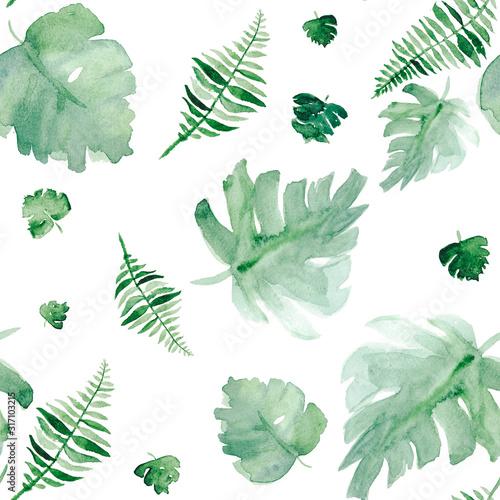 akwarela-bezszwowe-wzor-tropikalny