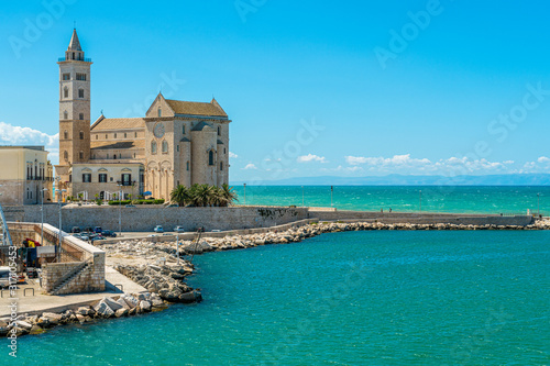 Trani waterfront with the beautiful Cathedral Wallpaper Mural