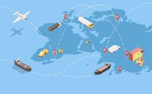 Worldwide Goods Shipment Isome...