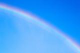 Fototapeta Tęcza - Rainbow in Blue Sky, Niagara Falls, Canada
