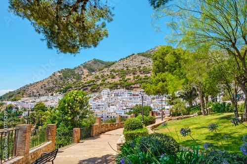 Fotografie, Obraz Park of Mijas village. Andalucia, Spain