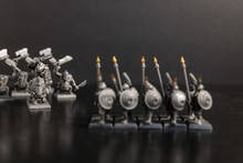 Grayscale Selective Focus Shot...