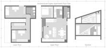 Architectural Duplex Apartment...