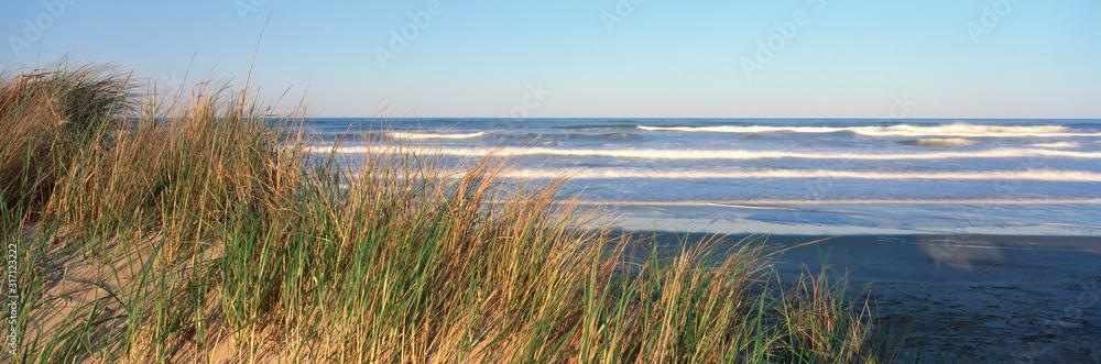 Fototapeta Atlantic Ocean At Sunset, Cape Hatteras, North Carolina
