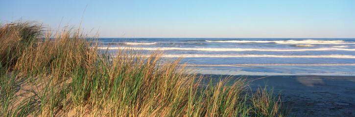 Atlantski ocean pri zalasku sunca, rt Hatteras, Sjeverna Karolina