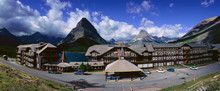 Lodge At Many Glacier, Glacier...
