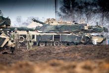 U.S. Marines M1A1 Abrams Main ...