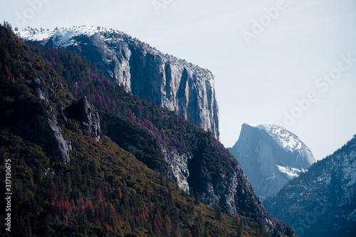 Photo Yosemite National Park Picturesque Postcard