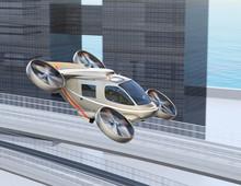 Flying Car ( Air Taxi) Flying ...