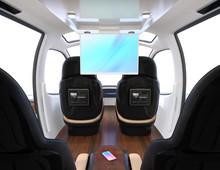 Luxury Interior Of Flying Car ...