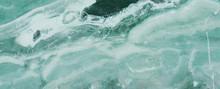 Blue Ocean Marble Rock Stone T...