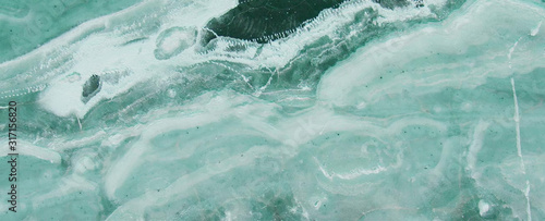 blue ocean Marble rock stone texture wallpaper background