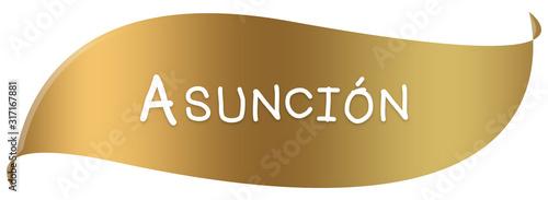 web Label Sticker Asunción Wallpaper Mural