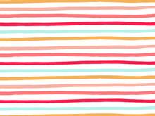 Multi Colored Border Stripe Ba...