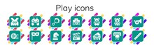 Play Icon Set