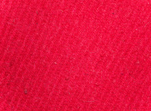 Texture Of Red Woolen Knitted ...