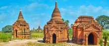 Panorama With Old Shrines, Bag...
