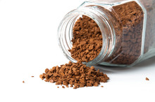 Instant Coffee Spills Out Of C...