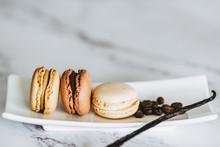 Macarons Empilés Gout Vanille...