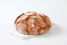 Rustic Sourdough Bread With Crispy Crust