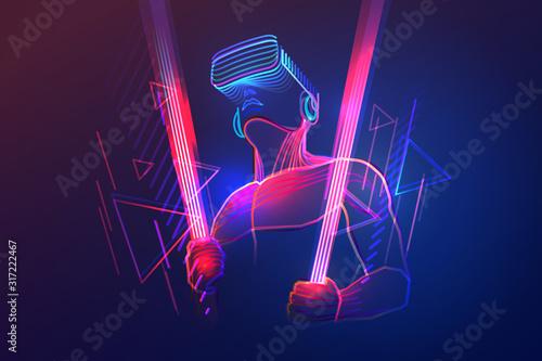 Photo Virtual reality gaming