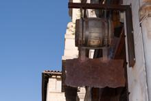 Hanging Wine Sign Shop Barrel ...