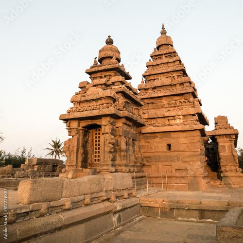 Obraz na plátně Shore Temple, Mahabalipuram, Tamil Nadu, India