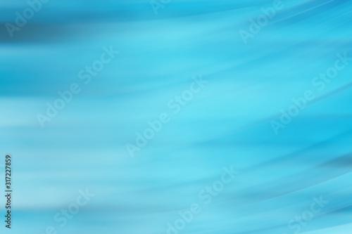 Obraz blurred blue background / gradient fresh transparent design background, blue abstract wallpaper - fototapety do salonu