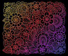 Colorful Floral Pattern For Me...