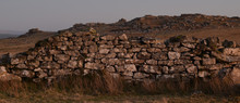 Dry Stone Wall In A Ruined Qua...